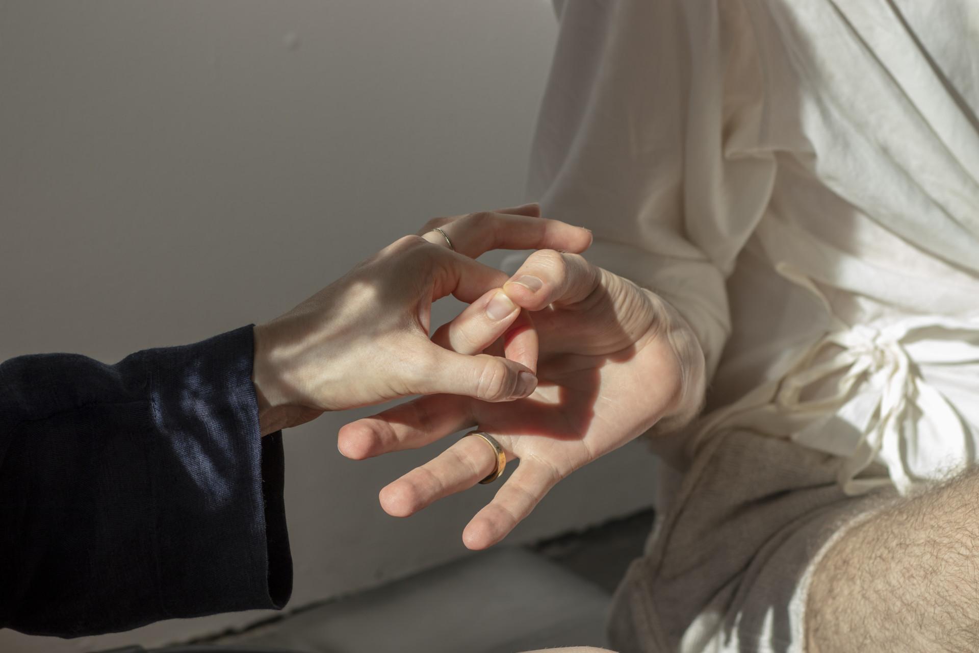 lukas hofmann / saliva A Rehearsal
