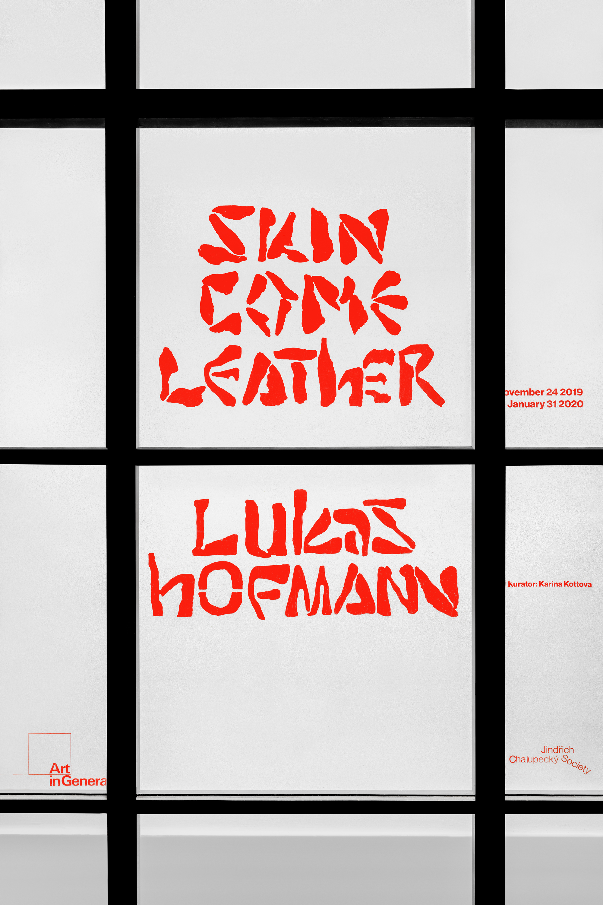 lukas hofmann / saliva Skin Come Leather (NYC)